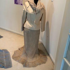 Pronovias Barcelona Skirt Suit